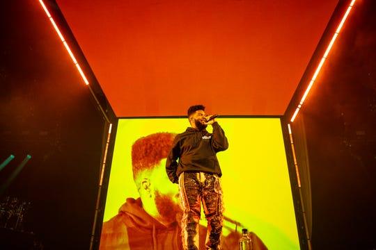 Khalid treats fans to emotional set at Glendale Free Spirit Tour launch