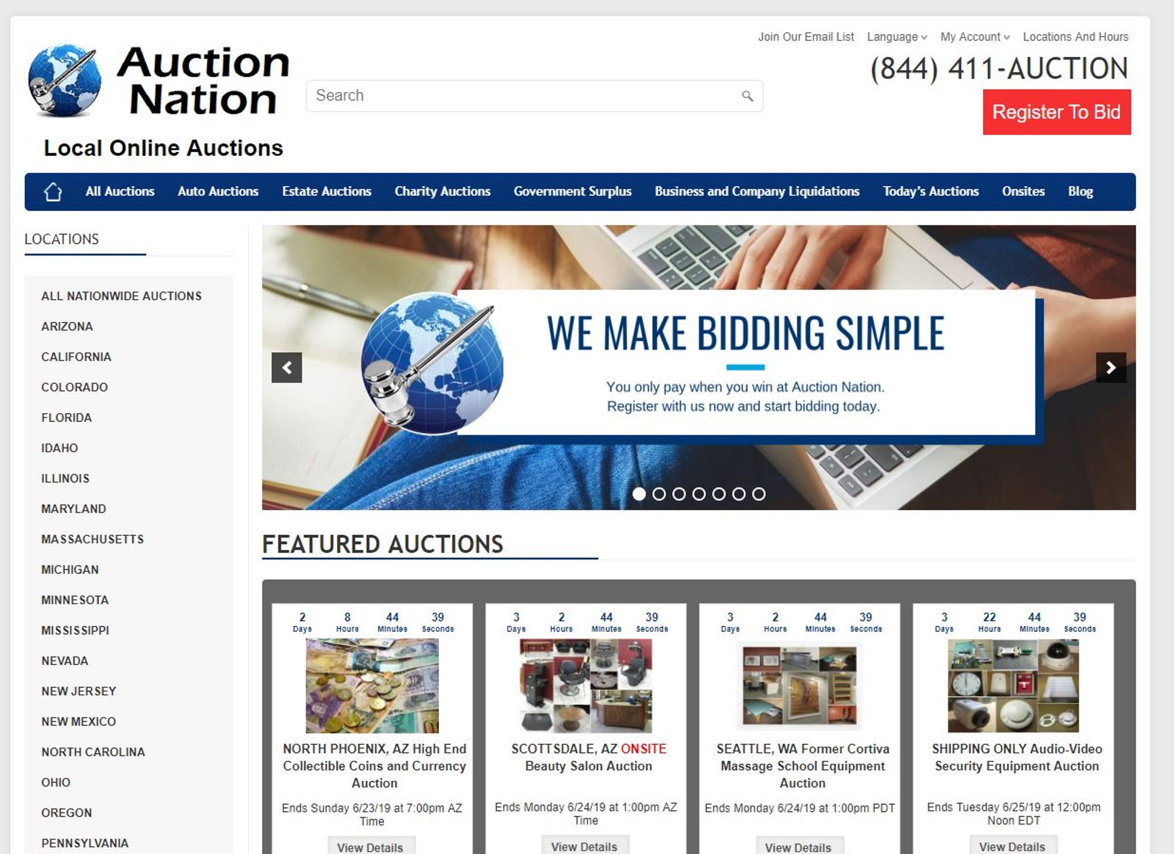 Auction Nation's websitedisguises house bidding.Consumers are not told the minimum acceptable saleprice,known as the reserve price. And that amount can change even after bidding is underway.