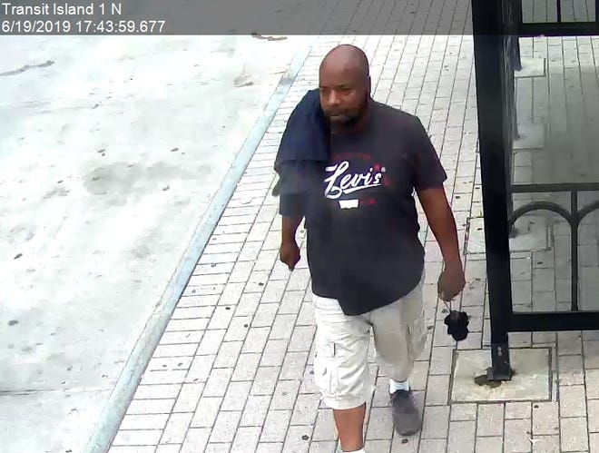 Police seek public assistance to identify the man suspected of committing a strong arm robbery.