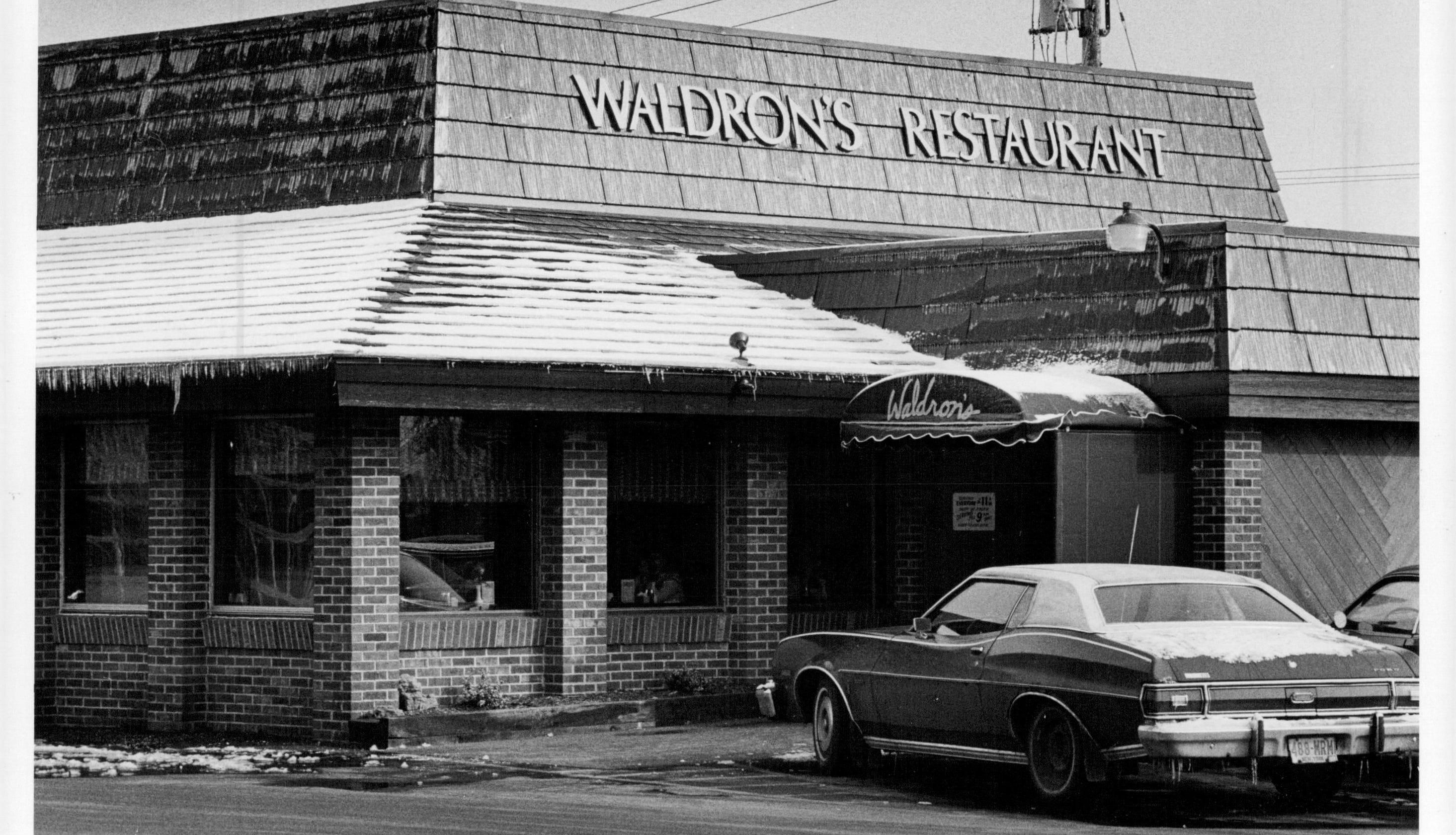 Whatever Happened to     Waldron's Restaurant?