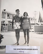 Leah and Arthur Winter celebrated their 70th wedding anniversary June 21, 2019.  They pair went to  Miami Beach for their honeymoon in 1949.