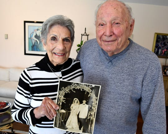 Salinas residents Leah and Arthur Winter celebrated their 70th wedding anniversary June 21, 2019.