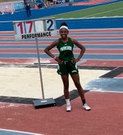 Amanda Ballard placed 12th in the freshman division at nationals as a member of the Parkside High School track team.