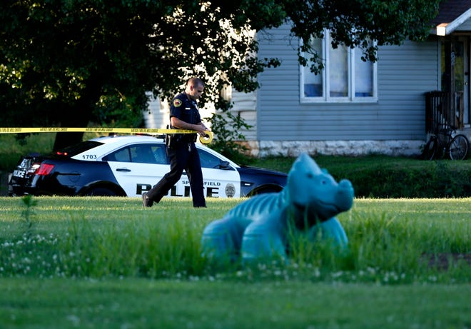 Springfield police are investigating a shooting at Hawthorn Park that left one person injured on Thursday, June 20, 2019.