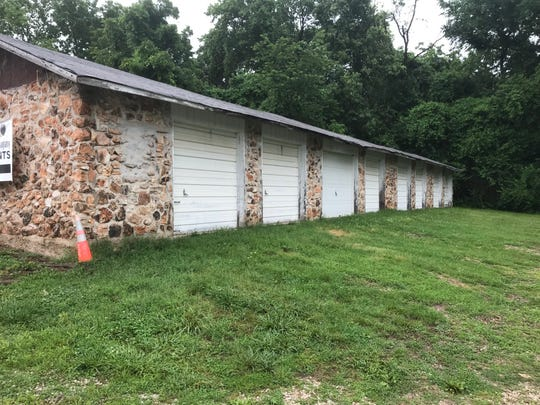 This structure once was divided into cabins. It is behind the former Sequiota General Store at 3535 S. Lone Pine Ave.