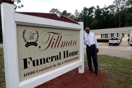 Al Hall, funeral director at Tillman Funeral Home, poses for a photo Friday, Jun 21, 2019.