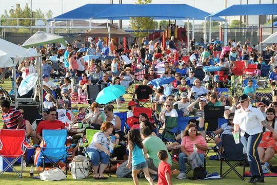 Expect a good crowd for the Pop Goes the Fourth concert July 4 at Biggs Field.