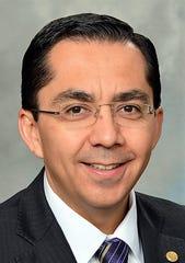 Roberto Coronado, senior vice president in charge of the Dallas Fed's El Paso branch.