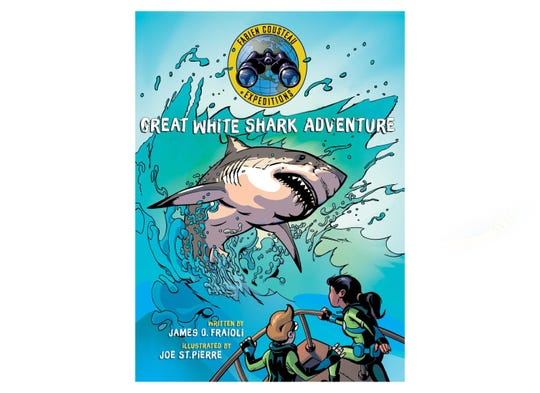 Great White Share Adventure, written by James O Frailoi, illustrated by Joe St. Pierre