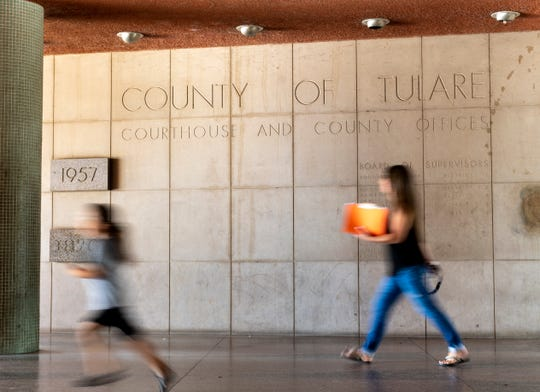 Tulare CountyÕs family law division is in transition as judges have been cut and cases are being heard in both family and civil courtrooms. Photo taken on Friday, June 21, 2019.
