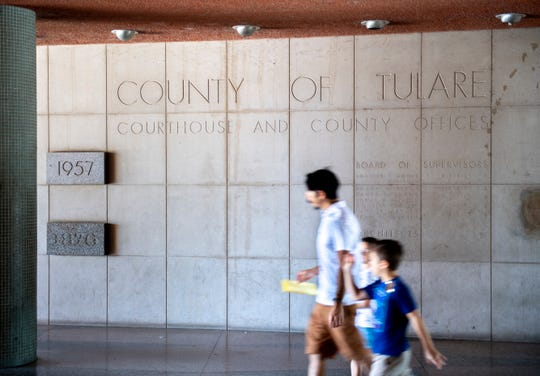Tulare County's family law division is in transition as judges have been cut and cases are being heard in both family and civil courtrooms. Photo taken on Friday, June 21, 2019.