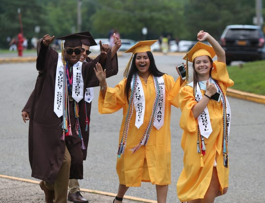 Clarkstown South holds their graduation ceremony in West Nyack on Friday, June 21, 2019.