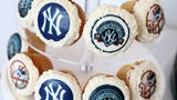 Rose Sanca of Peekskill's Homestyle Desserts Bakery talks about making the Yankees Old-Timers celebration cake since 2009.