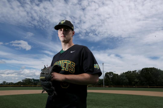 Lakeland's Joey Vetrano, photographed June 21, 2019 is the The Journal News/Lohud Westchester/Putnam Baseball Player of the Year. This is the second year in a row that Vetrano, a junior, has received the award.