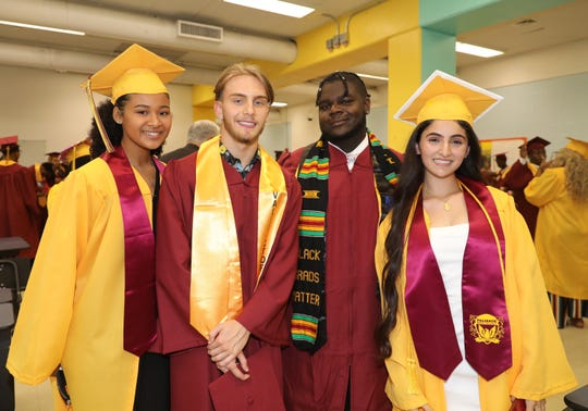 Palisade Preparatory School in Yonkers, held their 8th commencement exercises at Yonkers/Middle High School, June 21, 2019.