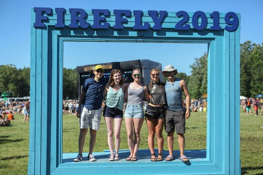 Scenes from Firefly Music Festival on Friday afternoon June 21, 2019 in Dover.