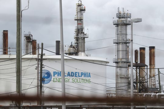 A fire in a vat of butane caused an early morning explosion   at the Philadelphia Energy Solutions Refining Complex around 4 a.m. Friday.