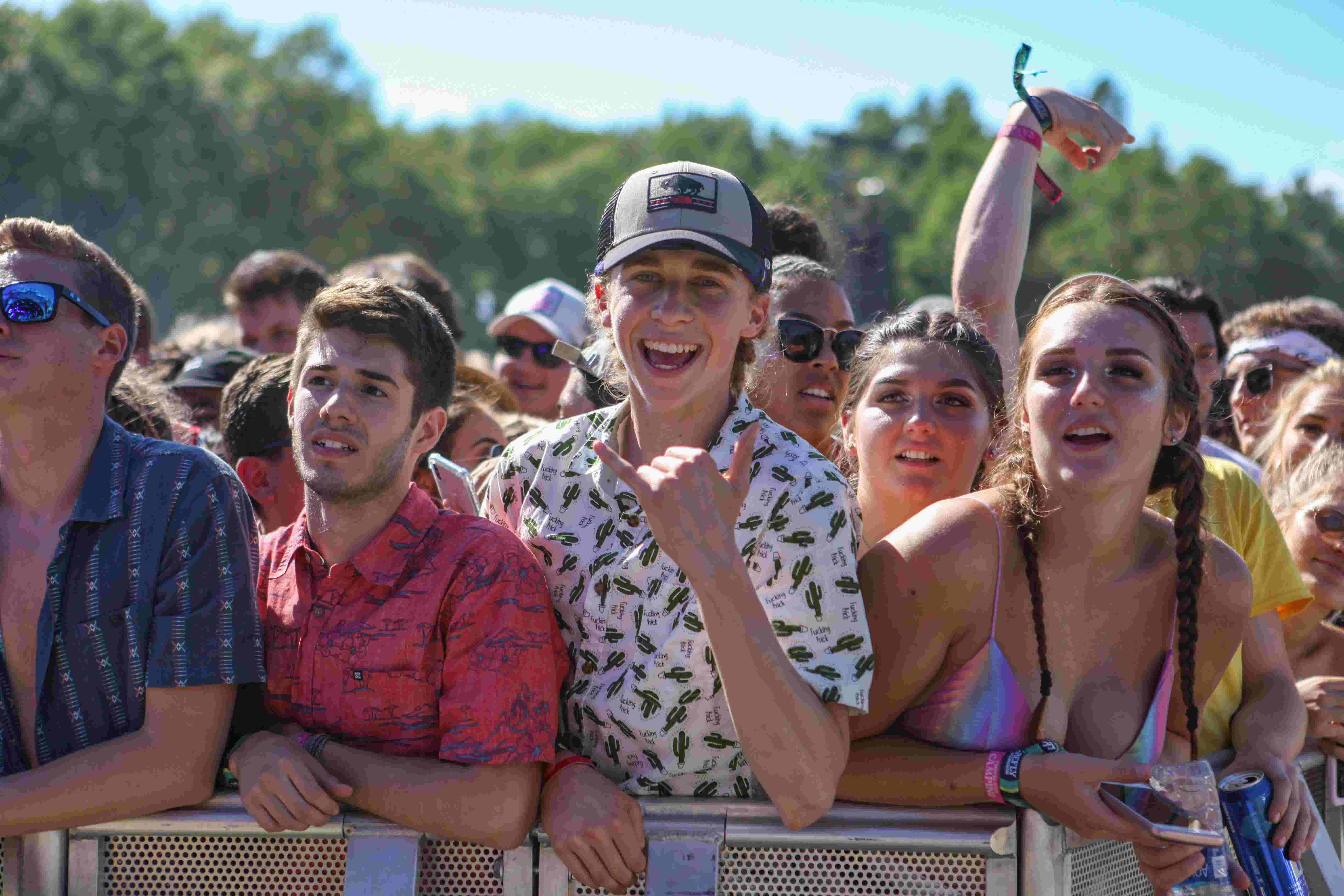 Firefly 2019: He decided 2 years ago he'd ask to marry her here. This year, he did it.