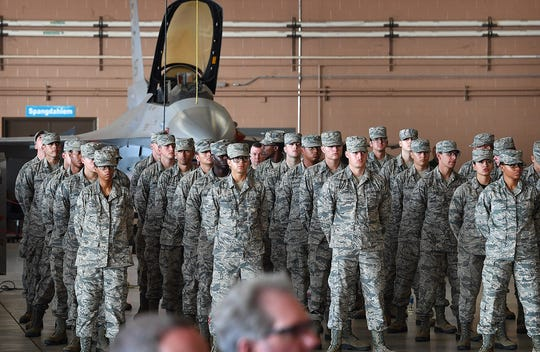 Due to the COVID-19 threat, Sheppard Air Force Base issued a memorandum Friday restricting airmen-in-training to the base.