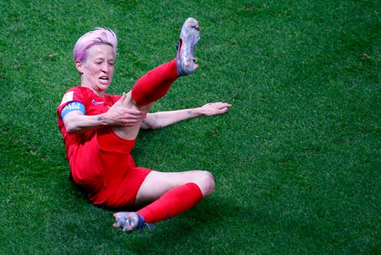 Megan Rapinoe and the USWNT better win the 2019 World Cup or all we'll talk about this year's team is the celebration debacle from their opening win over Thailand.
