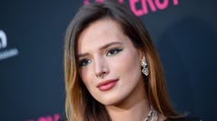 """Bella Thorne at the Los Angeles premiere of """"J.T. Leroy"""" on April 24, 2019."""