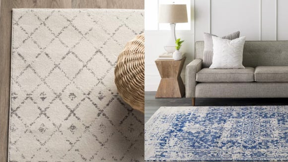 Give your floors a major makeover with this incredible rug sale.