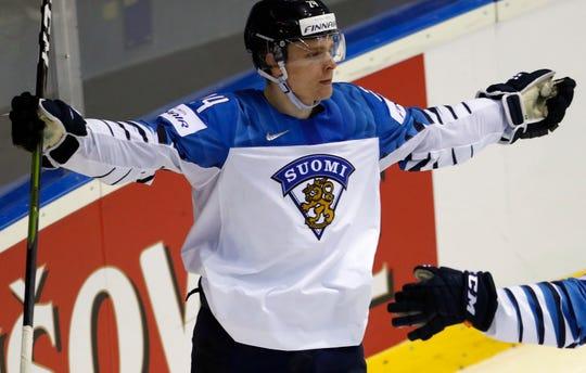 Kaapo Kakko had 22 goals and 38 points in the Finnish Elite League.