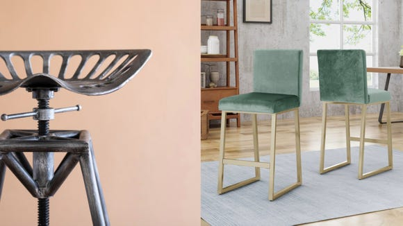 Shop everything from industrial to contemporary with this barstool sale.