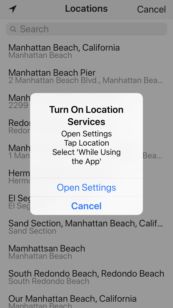 Facebook's pitch to turn on Location Services doesn't mention that it will track you