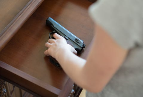 Ask parents of your kids' friends this question: 'Is there an unlocked gun in your house?'