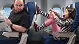 These are the five airline passengers Americans are most annoyed by, according to an Expedia.com etiquette study.