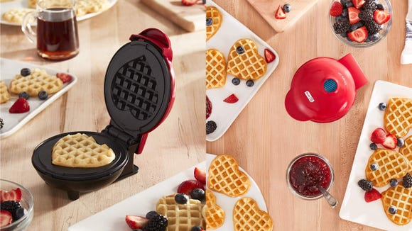 Love is in the air—and in your waffles.