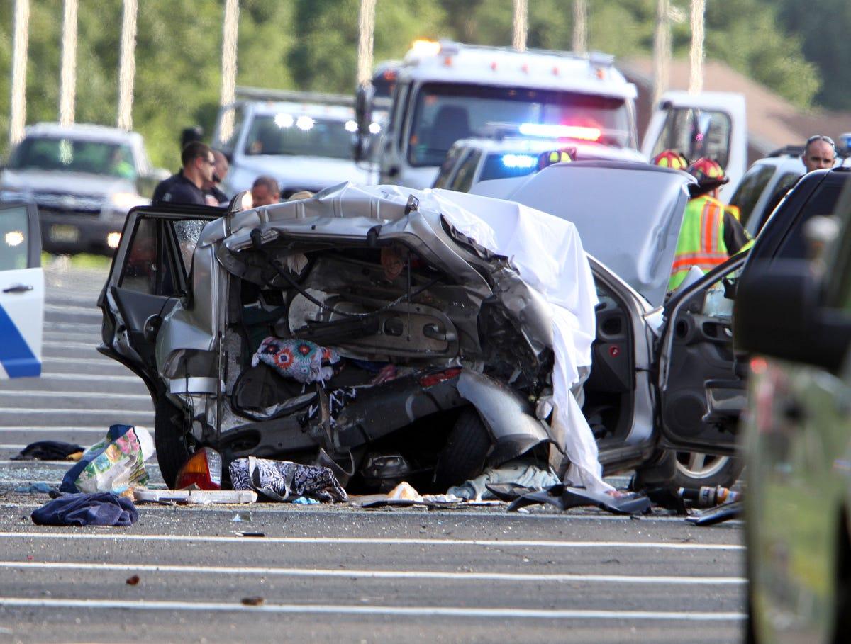 Brick fatal parkway crash victim ID'd as teen girl from Pennsylvania