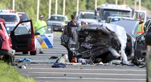 Fatal motor vehicle crash on Garden State Parkway in Brick