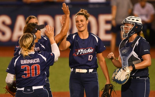 Pride pitcher Megan Good has been part of a solid pitching rotation for USSSA.