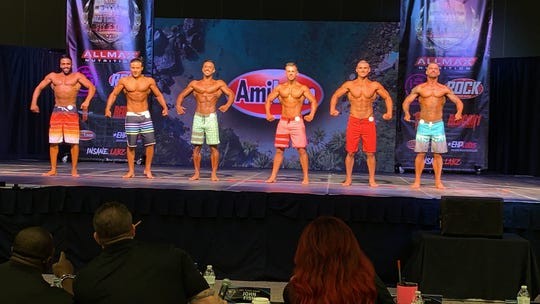 The 7th annual Bernadette Galvan's Battle on the Bay Fit Expo featured 300 bodybuilding contestants from across the state on Saturday, June 22, 2019.