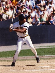Barry Larkin hit .369 as a sophomore as the Michigan Wolverines made the College World Series in 1984.