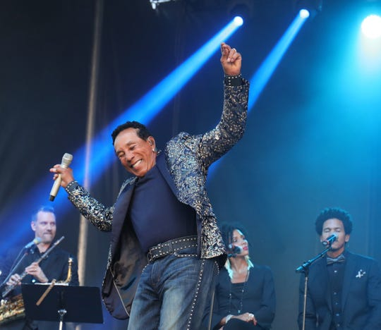 Smokey Robinson will perform at Agua Caliente Resort Casino Spa in Rancho Mirage, Calif. on Nov. 23, 2019.