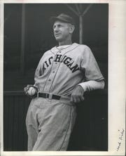 Former major league pitcher Ray Fisher also was baseball coach at Michigan from 1921 to 1958