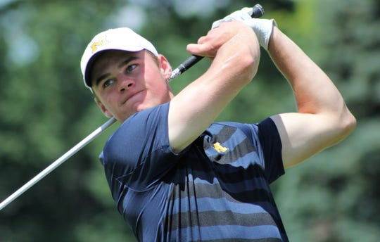 Patrick Sullivan, here, will face and Coalter Smith at 8:15 a.m. Saturday in the semifinals of the Michigan Amateur at Oakland Hills North Course.