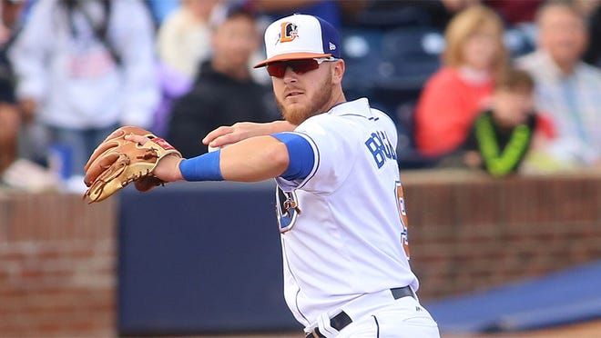Mike Brosseau was tearing it up at Durham this season, earning the call-up to the Tampa Bay Rays.