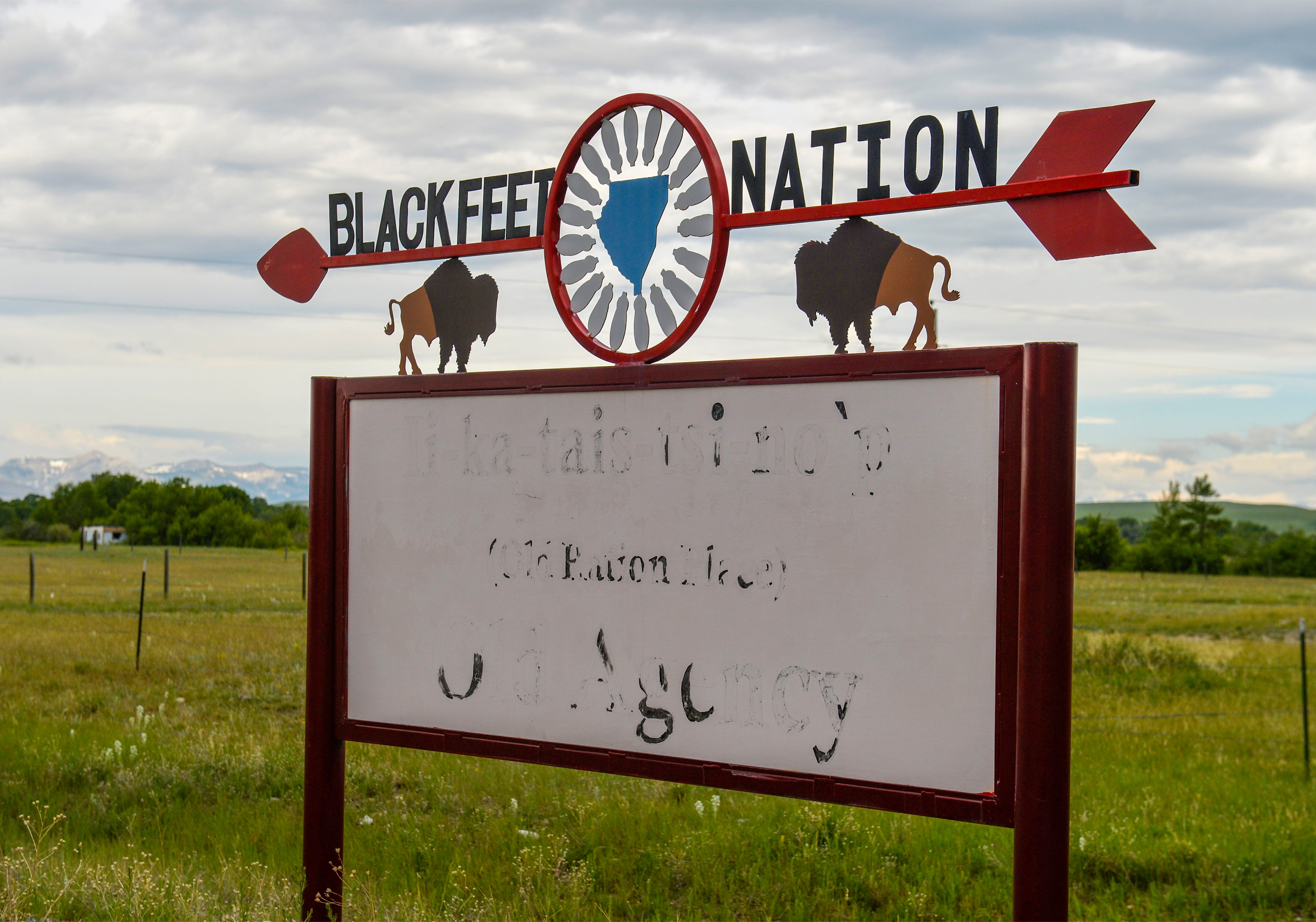 The Spotted Eagle Fire in 2015 threatened the community of Heart Butte which lies on the Blackfeet Indian Reservation along the eastern side of the Rocky Mountain Front in northcentral Montana.  Stored up fuels, wind and terrain made the fire hard to battle.  These conditions can be found in many of the communities that line Montana's Rocky Mountain Front.