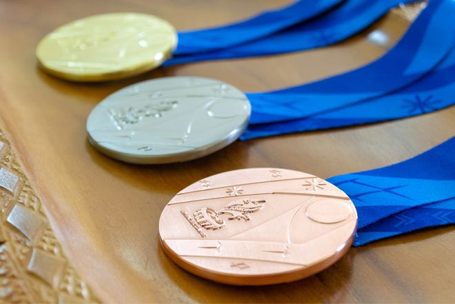 Athletes will vie for these gold, silver and bronze medals at the 2019 Pacific Games in Samoa. The Games run from July 7-20.