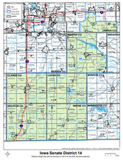 Iowa State District 14 is currently held by State Sen. Amy Sinclair, R-Allerton.