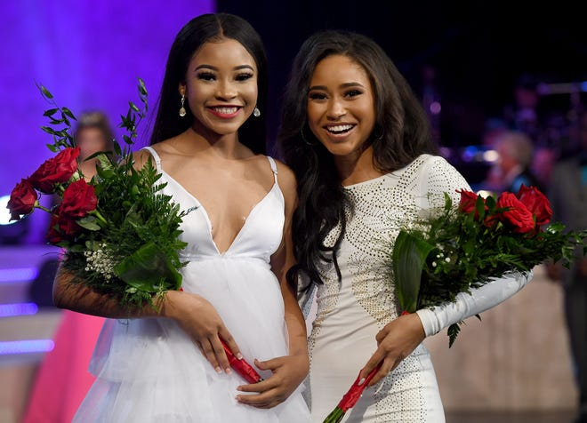 Miss Lane College Shannel DeFoe and Miss Middle Tennessee Valley Elise Stein were named preliminary winners in talent and lifestyle & fitness during night three of the 2019 Miss Tennessee Volunteer Scholarship Pageant, Friday, June 21.
