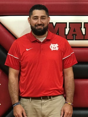 Michael LaCroix, the new Athletic Director at Mansfield Christian, is a 2006 Plymouth graduate and a former basketball teammate of Mansfield News Journal Sports Reporter Jake Furr.