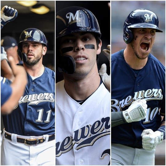 Mike Moustakas, Christian Yelich and Yasmani Grandal are all part of the 'Starters Election' for the 2019 all-star game.