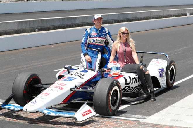 Retired NHRA drag racer Courtney Force is discovering the NTT IndyCar Series with her husband, Graham Rahal.