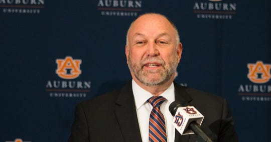 Auburn University president Steven Leath.
