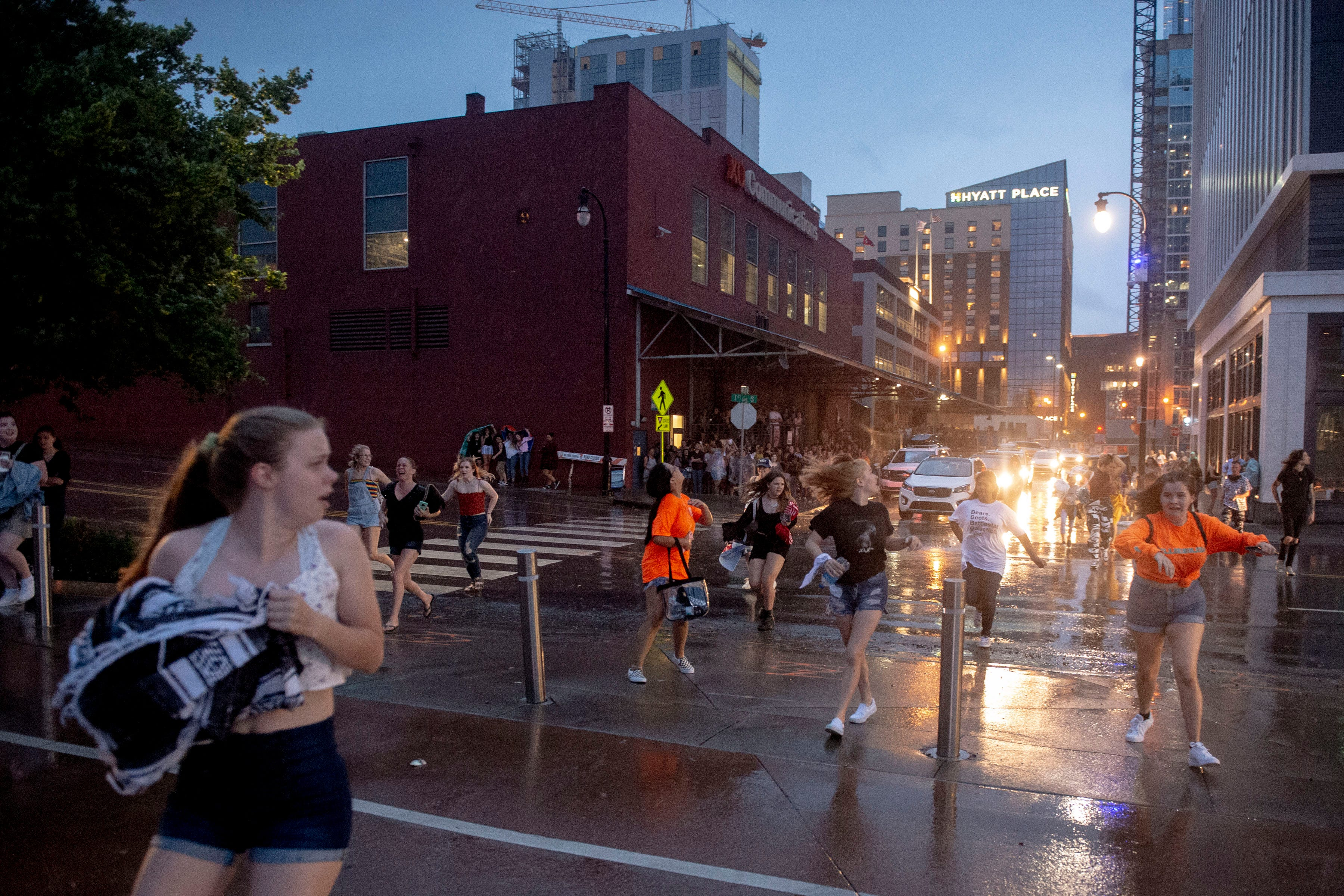 Severe thunderstorms in Nashville: Billie Eilish fans evacuate Ascend Amphitheater